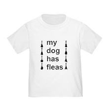 My Dog Has Fleas T