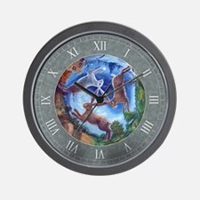 Three Hares Wall Clock