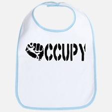 Occupy Wall Street Fist Bib