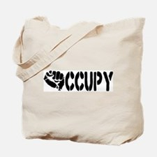 Occupy Wall Street Fist Tote Bag