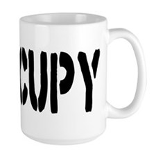Occupy Wall Street Fist Mug