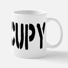 Occupy Wall Street Fist Mug