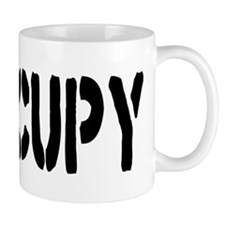 Occupy Wall Street Fist Small Mug