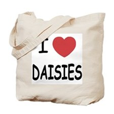 I heart daisies Tote Bag
