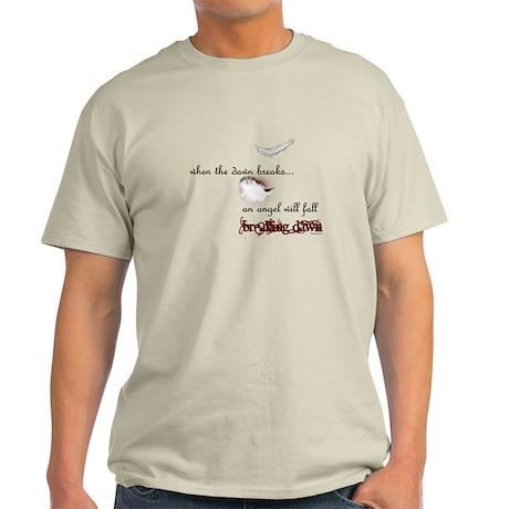 Breaking Dawn Angel Wings by Twibaby Light T-Shirt