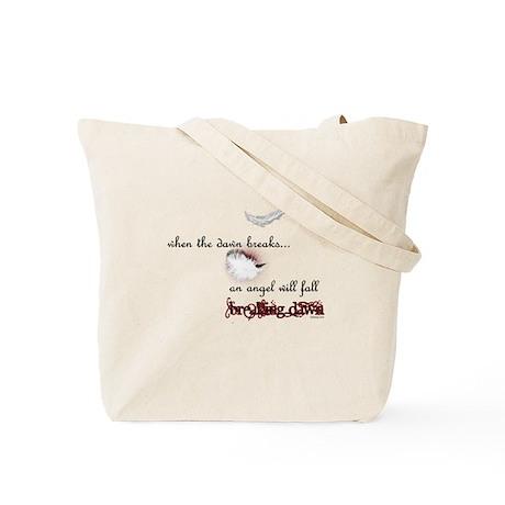 Breaking Dawn Angel Wings by Twibaby Tote Bag