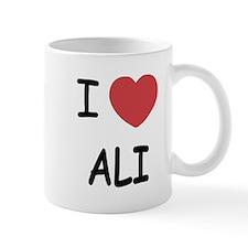 I heart ali Small Mug