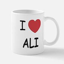 I heart ali Small Small Mug