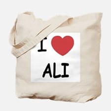 I heart ali Tote Bag