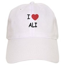 I heart ali Baseball Cap