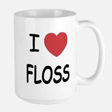 I heart floss Mug