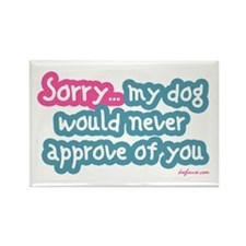 Sorry (Dog) Rectangle Magnet