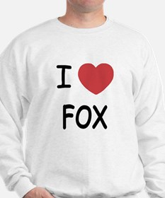 I heart fox Sweater