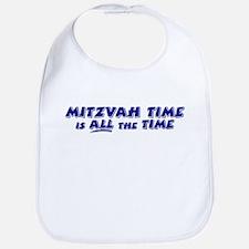 Jewish Mitzvah Time Bib