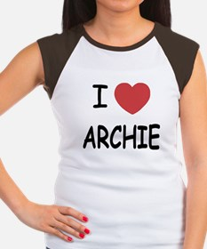 I heart archie Women's Cap Sleeve T-Shirt