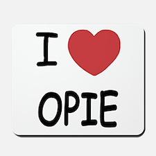 I heart opie Mousepad