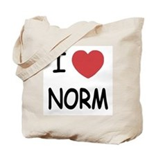 I heart norm Tote Bag