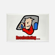 Recalculating . . . Rectangle Magnet (10 pack)