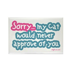 Sorry (Cat) Rectangle Magnet (100 pack)