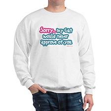 Sorry (Cat) Sweatshirt