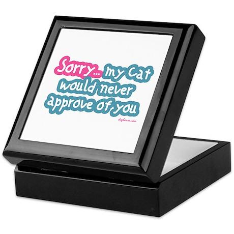 Sorry (Cat) Keepsake Box