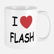 I heart flash Mug