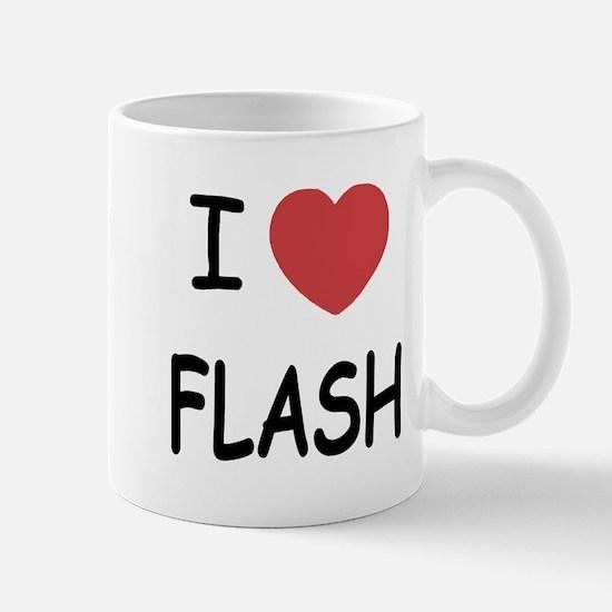 I heart flash Mug