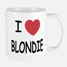 I heart blondie Mug