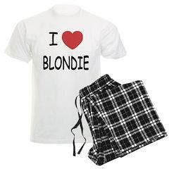 I heart blondie Pajamas