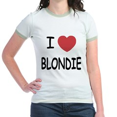I heart blondie T