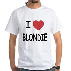 I heart blondie Shirt