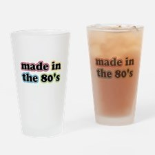 Made In The Eighties Drinking Glass