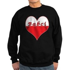Babci Polish Heart Sweatshirt
