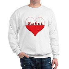 Babci Polish Heart Sweatshirt