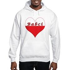Babci Polish Heart Hoodie