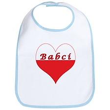 Babci Polish Heart Bib