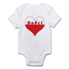 Babci Polish Heart Infant Bodysuit