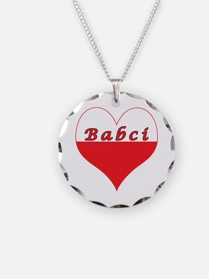 Babci Polish Heart Necklace