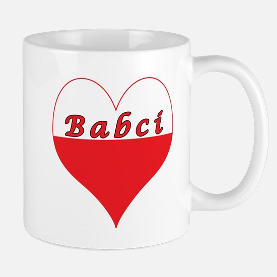 Babci Polish Heart Mug