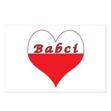 Babci Polish Heart Postcards (Package of 8)