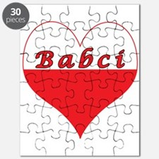 Babci Polish Heart Puzzle