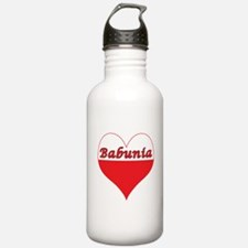 Babunia Polish Heart Water Bottle