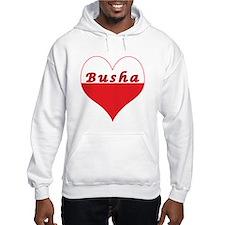 Busha Polish Heart Hoodie