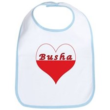 Busha Polish Heart Bib