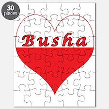 Busha Polish Heart Puzzle