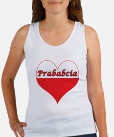 Prababcia Polish Heart Women's Tank Top