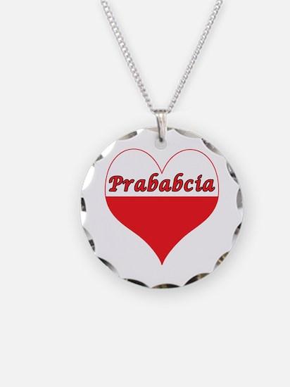 Prababcia Polish Heart Necklace