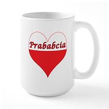 Prababcia Polish Heart Mug