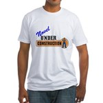 Novel Under Construction Fitted T-Shirt
