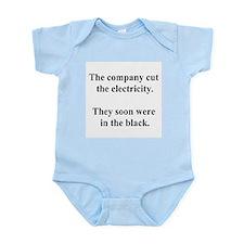 electricity joke Infant Bodysuit